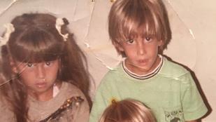 Felismeri, kik ezek a testvérek a gyerekkori képen?