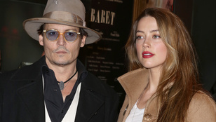Az megvan, hogy Johnny Depp és Amber Heard válik?