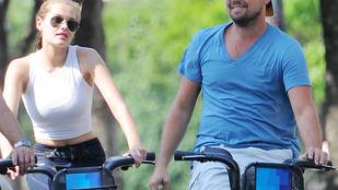 Leonardo DiCaprio a Margitszigeten is bicajozgathatna így