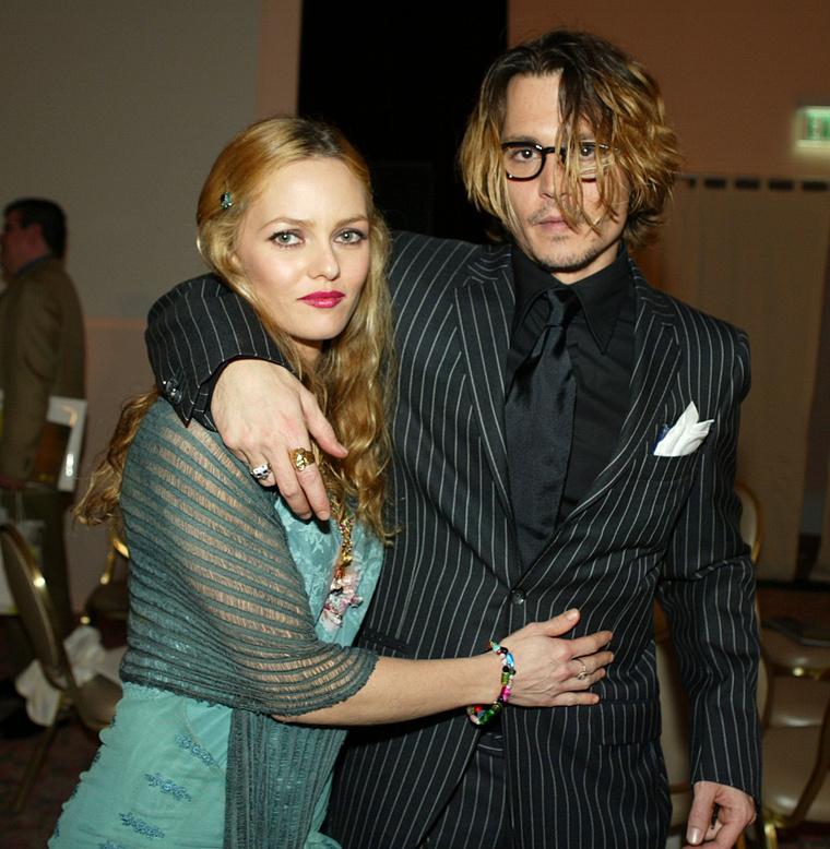 Johnny Depp és Vanessa Paradis