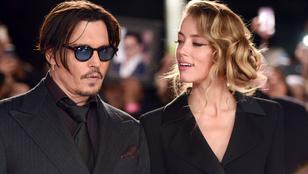 Amber Heard mintha sosem kötelezte volna el magát Johnny Depp mellett