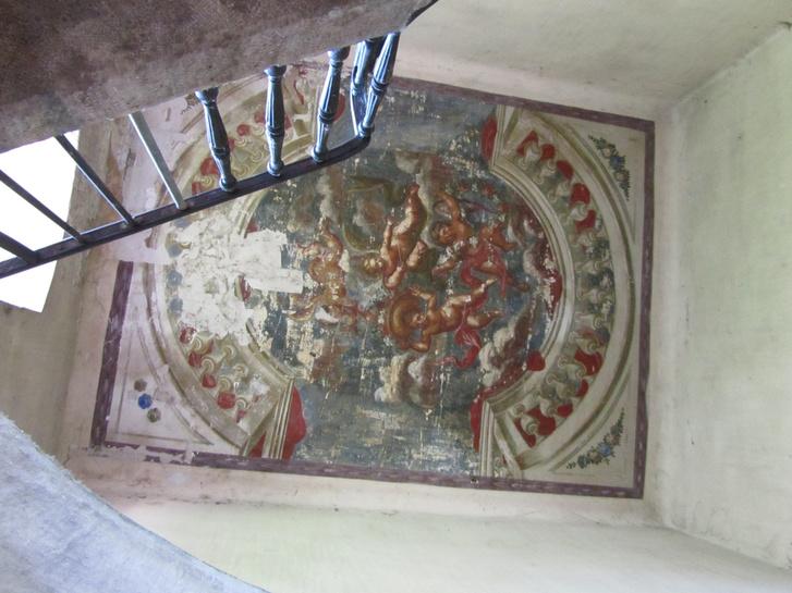 Lotz-freskó a Lónyai utcában