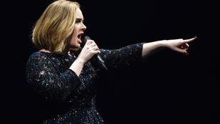 Adele elfelejtette a saját dalszövegét