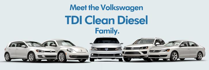 A Volkswagen több típusát árulta dízelmotorral az Egyesült Államokban, a Clean Diesel (tiszta dízel) kampányával népszerűsítve azokat