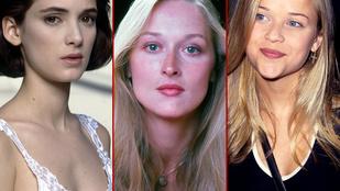 Sose jutna eszünkbe, hogy ezek a nők valamikor nem kellettek Hollywoodnak