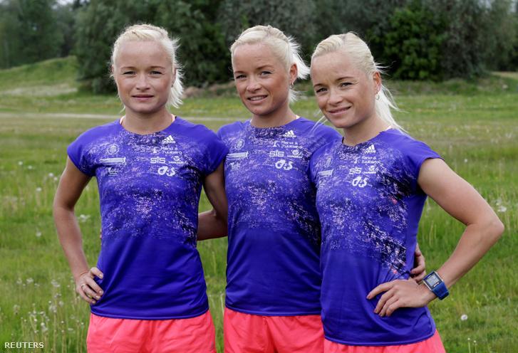 Leila, Liina és Lily Luik