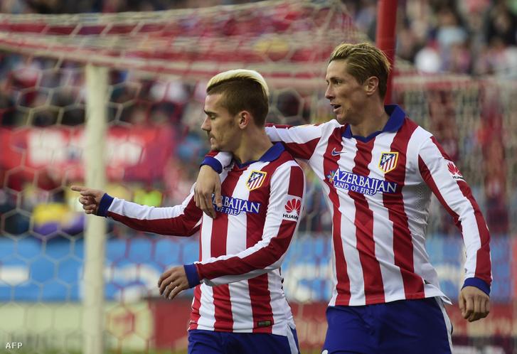 Antoine Griezmann és Fernando Torres