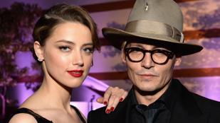 Bántalmazás miatt távoltartási végzést akar szerezni Amber Heard Johnny Depp ellen