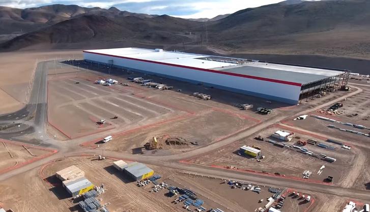 A Tesla épülő akkumulátorgyára, a Gigafactory