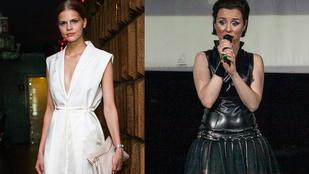 Gyönyörű modellek, fekete-fehér kreatívkodás – ez a mai magyar divat