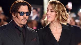 Johnny Depp reagált arra, hogy volt menedzsere beperelte: jó vicc, koma