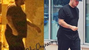 Rob Kardashian fele akkora méretekkel készül az apaságra