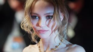 Lily-Rose Depp: az apám a legédesebb ember, akit ismerek