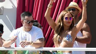 Jennifer Lopez ráérzett a heringparty ízére