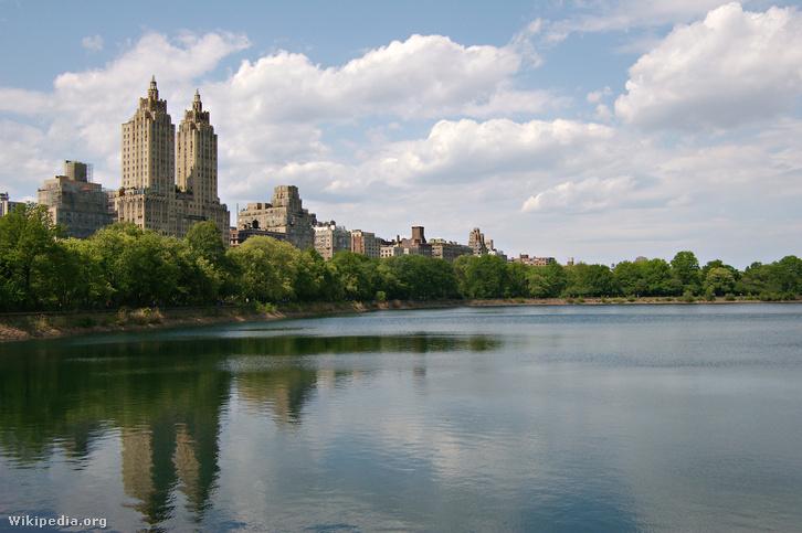 Az El Dorado ikertornyai a Central Park szélén