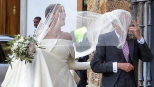 Az angol királyi család tagja királyi esküvőt tartott Spanyolországban