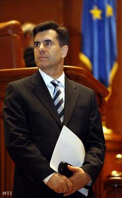 Lucian Croitoru kijelölt román miniszterelnök a kormányáról tartandó bizalmi szavazás elött