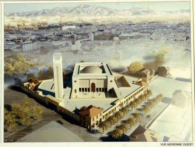 A mecset látványterve
