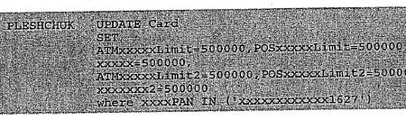 Kezdő hekkereknek itt a varázskód: SET ATMxxxxxLimit=500000 (részlet a vádiratból)