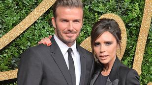 Cukin csápolt Victoria és David Beckham