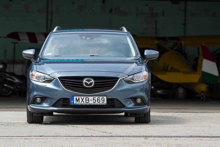 2015-ben volt a Mazda 6-os fészliftje. Ezt előtte gyártották