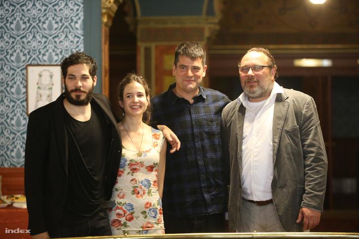 Szalay Bence, Móga Piroska, Antal Nimród és Schneider Zoltán