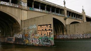 100 éves graffitit találtak Los Angelesben