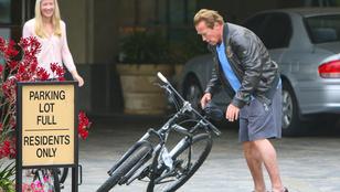 Arnold Schwarzenegger sosem volt még ennyire hétköznapi
