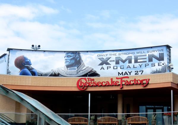XMen Apocalypse Mystique billboard