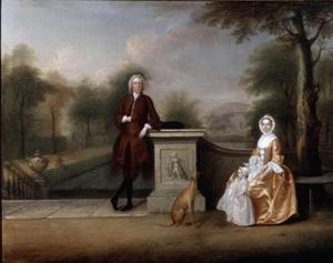 Robert Cholmondeley és felesége, Mary