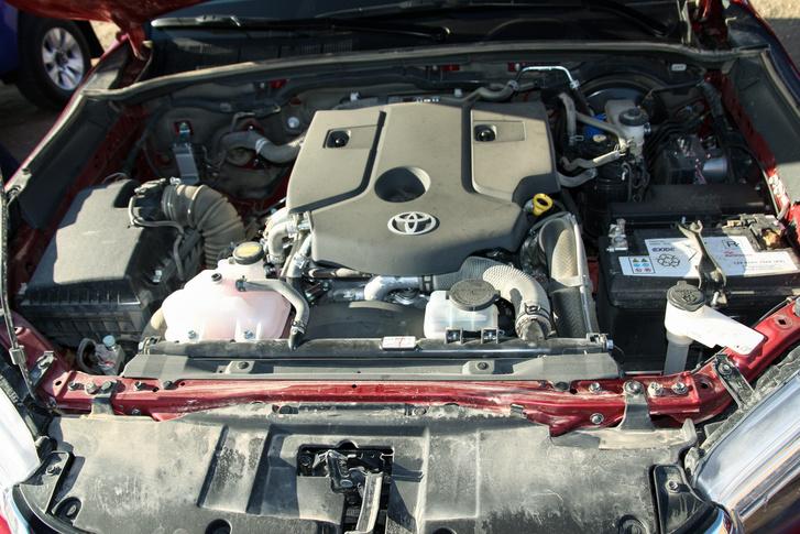 Az új motor
