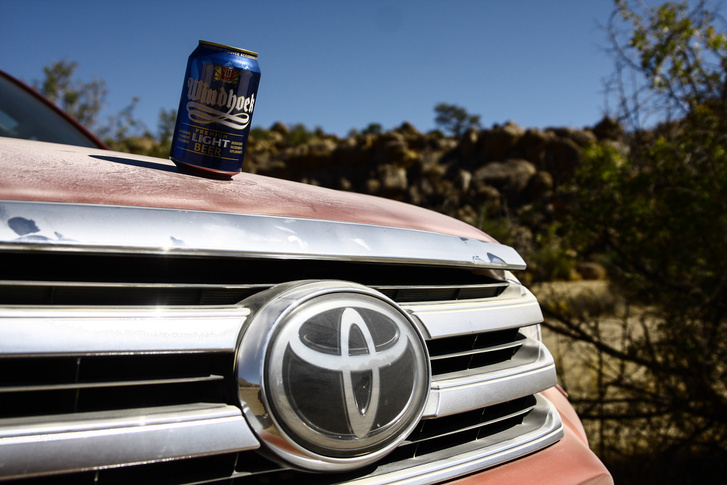 Windhoek sör. Alkoholmentes, ne aggódjanak