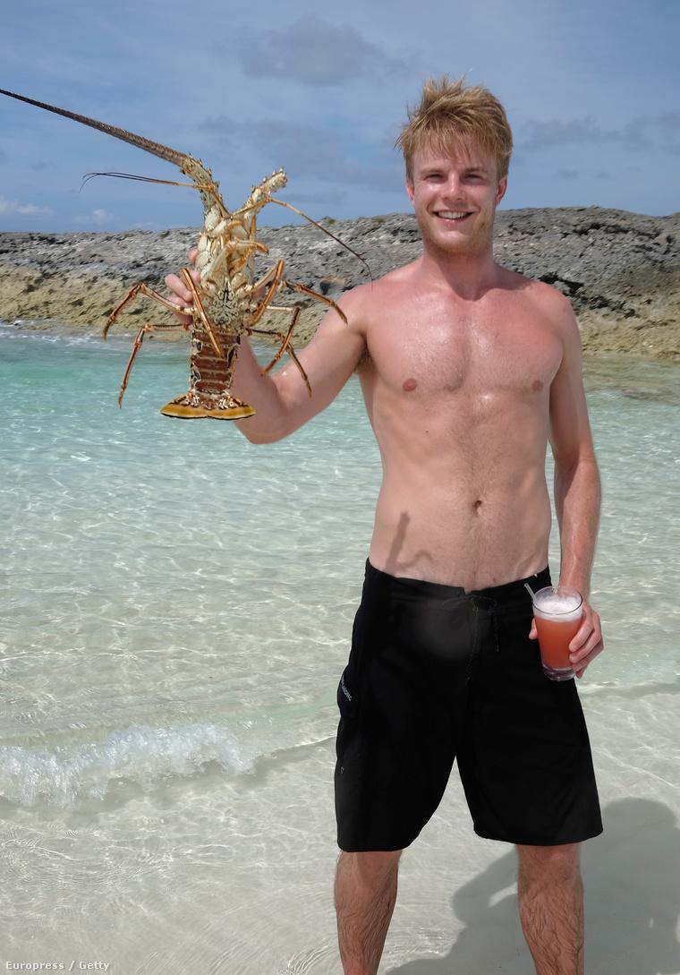Graham Roberts és egy bazi nagy homár