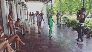 Már bikiniben vonulnak a Miss Balaton idei indulói