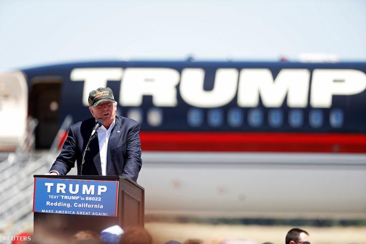 Donald Trump Reddingben