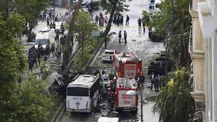 Egy rendőrségi busz volt az isztambuli robbantás célpontja