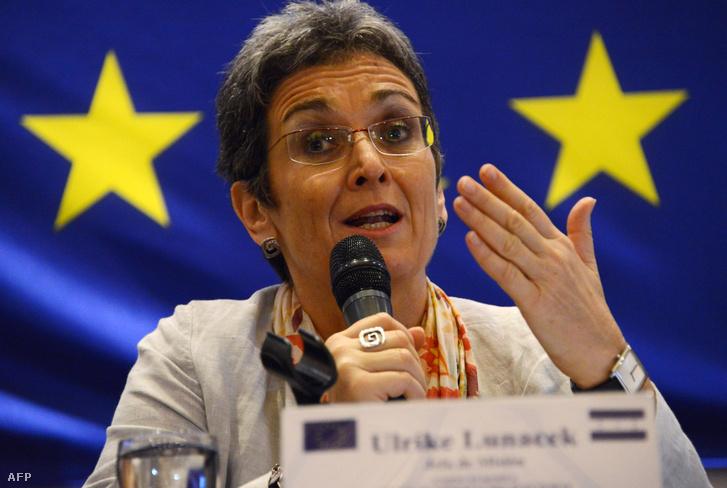 Ulrike Lunacek, a Zöldek európai parlamenti alelnöke