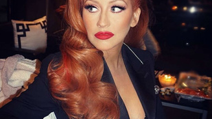 Christina Aguilera külseje erősen megváltozott