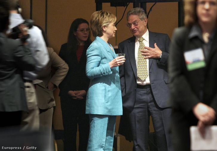 Hillary Clinton és Soros György
