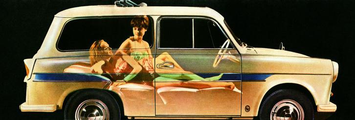 Trabant P50 Camper