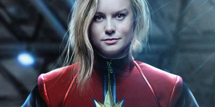 Így képzelik el Brie Larsont Captain Marvelnek