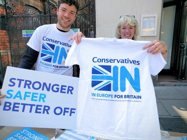 Maradásért kampányoló konzervatívok