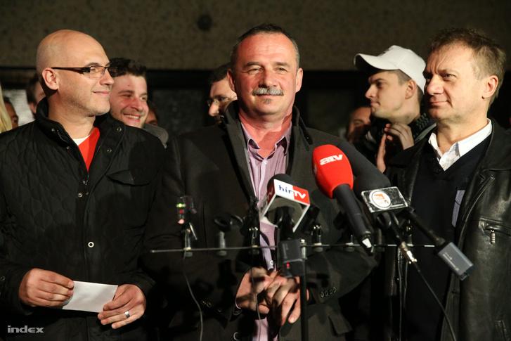 Fekete Zsolt, Salgótarján polgármestere az időközi választáson elért győzelme után