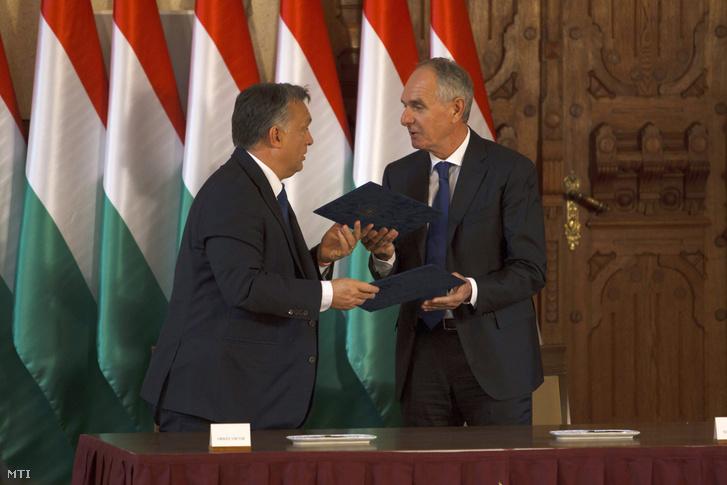 Orbán és Szita Károly polgármester Kaposváron