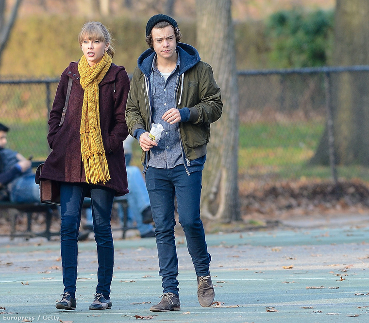 Taylor Swifft és Harry Styles 2012-ben.