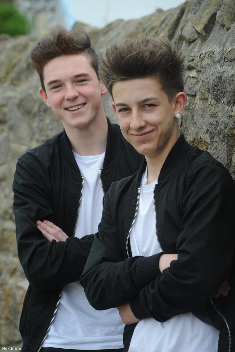 Kian Henderson és Ellis Coupland
