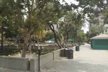 Zöldterületek a JPL-ben