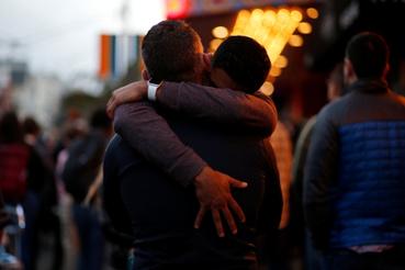 Ahmed Zaeem és Billy Quimby - egy San franciscó-i pár a virrasztók között.