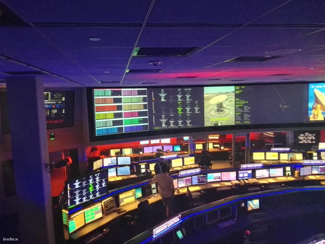 Az irányítóközpont