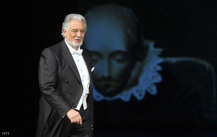 Plácido Domingo az Operaház színpadán
